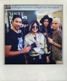 @Vogue fashion night out bangkok