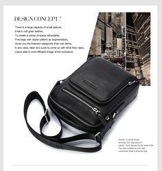 e2f351ba3a96 BISON DENIM 2017 Genuine Leather Men Bags Ipad Handbags Male Messenger Bag  Man Crossbody Shoulder Bag Men s Travel Bags 2333