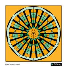 Kenzie Circles, Coloring, Design, Mandalas, Design Comics