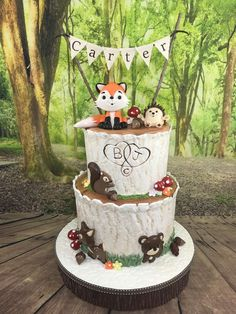 Woodland animals Baby Shower Party Ideas | Photo 1 of 20 | Catch My Party