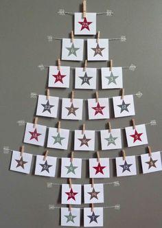Dans peu de jour on va commencer le compte à rebours pour Noël ! Vous n'avez pas envie d'acheter un calendrier de l'avent dans les grands magasins ? Voici 24 idées de calendrier de l'avent fait mai...
