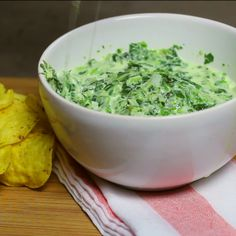 How to make a creamy Spinach Dip.
