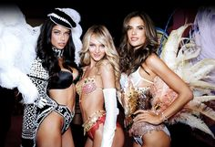 Victoria's Secret models are really, really ridiculously good looking anomalies. The average woman can't look like them through healthy diet and exercise.