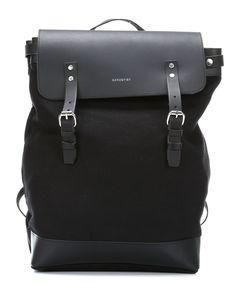 Hege 15'' Laptop-Rucksack schwarz 51 cm