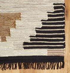 rejuvenation woodmere kilim rug handwoven in wool and cotton