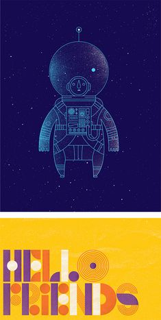 Creative Typography and Illustrations by Richard Perez