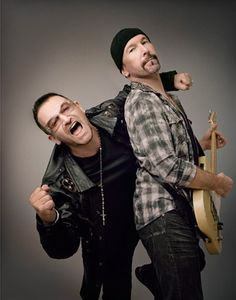Irish rock band (Bono a Edge) U2 Music, Rock Music, Mick Jagger, Rock Roll, Great Bands, Cool Bands, The Edge U2, U2 Band, Paul Hewson