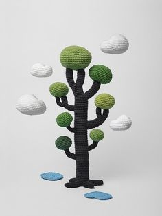 Amigurumi tree