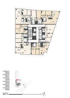 Zlota 44 floor 22 plan