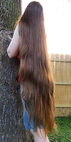 Beautiful Long Hair, Gorgeous Hair, Elegant Hairstyles, Pretty Hairstyles, Long Indian Hair, Really Long Hair, Rapunzel Hair, Long Dark Hair, Silky Hair