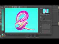 How to create Abstract Images # 3 in CINEMA4d (for BEGINNER) - YouTube