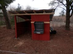 Goat Barn/Shelter (all we need now are the goats!)
