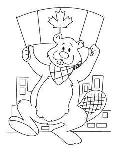 Canada Flag Coloring Page Fresh A Beaver with National Flag On Canada Day event Coloring Tree Coloring Page, Flag Coloring Pages, Online Coloring Pages, Free Coloring, Coloring Pages For Kids, Coloring Books, Canada Day Pictures, German Flag Colors, Flag Template