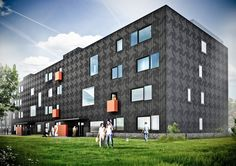 Budynek mieszkalny N1 w Gliwicach - medusa group