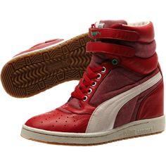 805ddddae66 Sky Wedge Sneakers $100 Wedge Heel Sneakers, Red Sneakers, Wedged Sneakers,  Wedge Shoes
