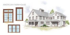 Farmhouse Windows