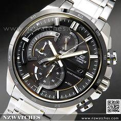 Casio Edifice, Sport Watches, Omega Watch, Chronograph, Solar, Accessories, Casio Watch, Clocks, Watch