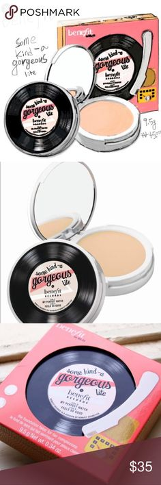 💄💄Benefit Gorgeous Lite Foundation Faker💋💋 Benefit Gorgeous Lite Foundation Faker for Fair Complexion, super easy to wear and blend, gives me long wear during the day, bought an extra one, never used, brand new in perfect condition Benefit Makeup Foundation