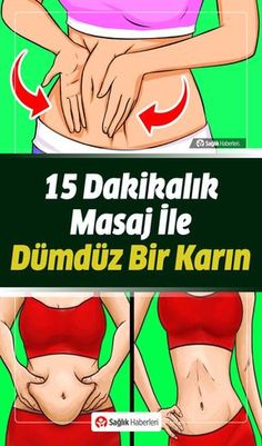 Karnınızı Düzleştirmek İçin 15 Dakika Masaj Yapın - Pin Tutorial and Ideas Yoga Training, Training Fitness, Fitness Tips, Belly Belly, Burn Belly Fat, Flat Belly, Fit Girl Motivation, Fitness Motivation, Massage