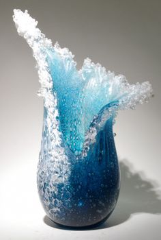 Art Glass sculpture by Desomma and Blaker from Kela's...a glass gallery on Kauai