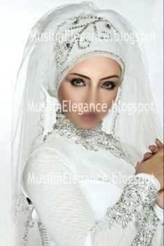muslim wedding dresses with hijab | Bridal+hijab+designs,+ready+to+wear+hijab,+hijab+fashion+2.jpg