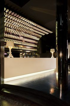 Back bar design - Pretty Please, Melbourne | Travis Walton