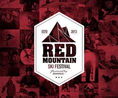 RedMountain - Ski Festival by Morten Lybech, via Behance