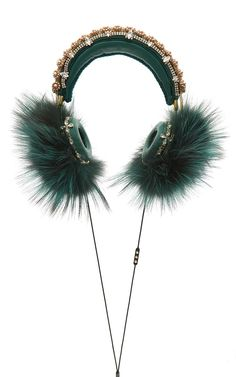Straight from the Dolce & Gabbana runway, these headphones can be yours—but at a steep price!