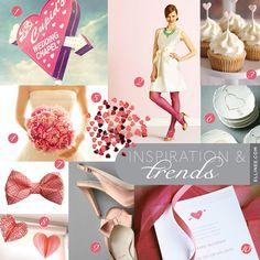 Pink Valentines Wedding Inspiration Board