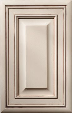 DeWils Creme Brulee (Paint with Glaze) - traditional - kitchen cabinets - DeWils Custom Cabinetry