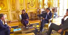 Nemo, the beloved dog of the French president, went viral after he relieved himself in a meeting!
