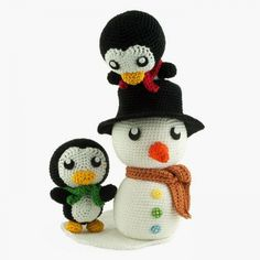 Snow Fun Amigurumi Pattern