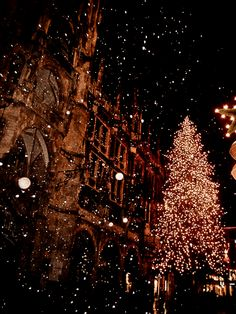 Find images and videos about winter, night and christmas on We Heart It - the app to get lost in what you love.