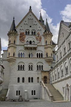 Inner courtyard of Neuschwanstein