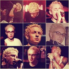 blonde Chester Bennington Linkin Park