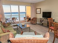 """Beachfront+-+RENOVATED+2BR/2BA+-Free+Beach+Service+-""""Life's+a+Beach""""+Destin+Cond+++Vacation Rental in Emerald Coast-Destin Area from @homeaway! #vacation #rental #travel #homeaway"""