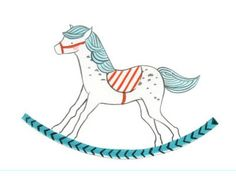 Dribbble - Rocking horse by The Nimbus Factory