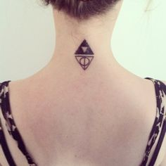 Triforce and Deathly Hallows. Nerd ink. Finally found mine and Jeremys couple tattoo!
