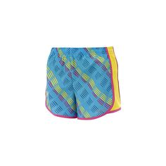 Reebok Girls' All Over Print Run Short ❤ liked on Polyvore