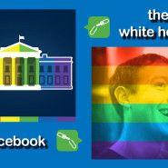 Repercusiones en #redessociales sobre el #matrimoniogay #EstadosUnidos #Facebook #BarackObama #WhiteHouse #video #homosexualidad #comunidadgay #legalización #cortesuprema #méxico #argentina