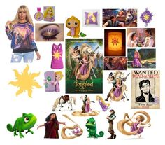 """""""Tangled"""" by hayleysoder ❤ liked on Polyvore featuring art"""