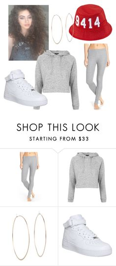 """""""Dytto inspired outfit"""" by amethystinertxpns ❤ liked on Polyvore featuring Nordstrom, Topshop, Michael Kors and NIKE"""