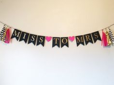 Miss to Mrs Kate Spade Theme Bridal Shower Kate by CMCraftStudio