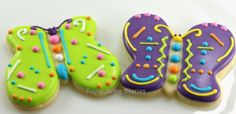 Easy butterfly cookies
