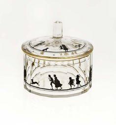 Bote de cristal. Autor: Friedrich Pietsch (1915)