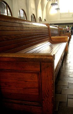 train station benches. When I was a young child my mother and I went by train to visit her sister who lived in Missouri.