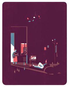 Illustrator Tom Haugomat | Motional