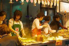 Cheap street food eats on Kowloon side, Hong Kong