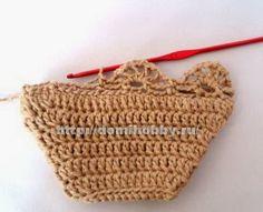 TRICO y CROCHET-madona-mía: Calcetines a crochet paso a paso