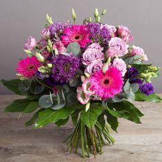 purple garden flowers bouquet - Google Search
